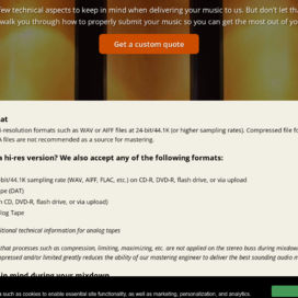 Submit Music For Mastering To The SoundLAB | Disc Makers Mastering